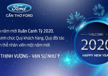 Cần Thơ Ford kính chúc quý khách hàng năm mới an khang thịnh vượng
