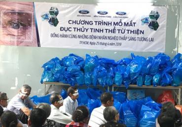 Cần Thơ Ford tài trợ mổ mắt miễn phí cho gần 200 bệnh nhân nghèo